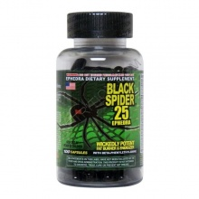 Жиросжигатель Cloma Pharma Black Spider 25ephedra 100caps