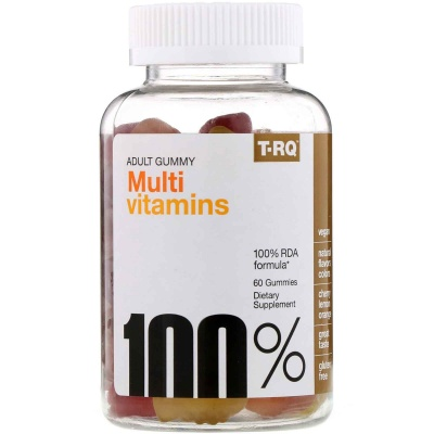 Витамины T-RQ Adult Gummy Multi Vitamins 60 мармеладок