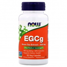 Антиоксидант Now Foods Eggs Green Tea Extract 400мл 90 капсул