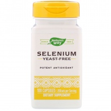 Витамины Nature's Way Selenium 100 кап