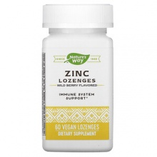 Витамины Nature's Way Zinc Lozenges 60 пастилок